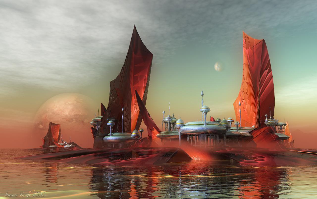 Sailing Cities