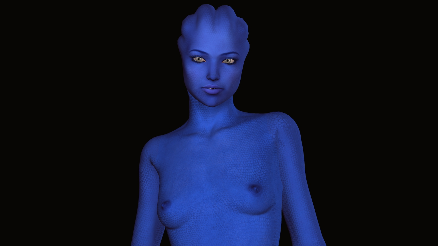 Asari Skin Texture Test By Grifonj Poser Science Fiction