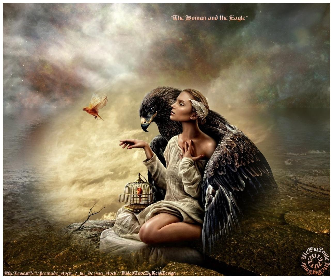 ~ The Woman and the Eagle ~