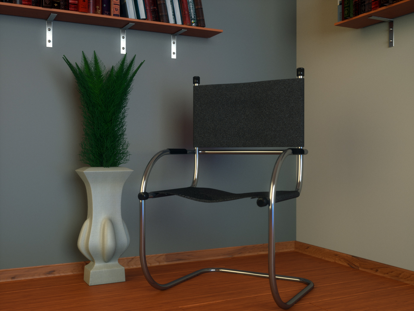 Free Cantilever Tube Chair