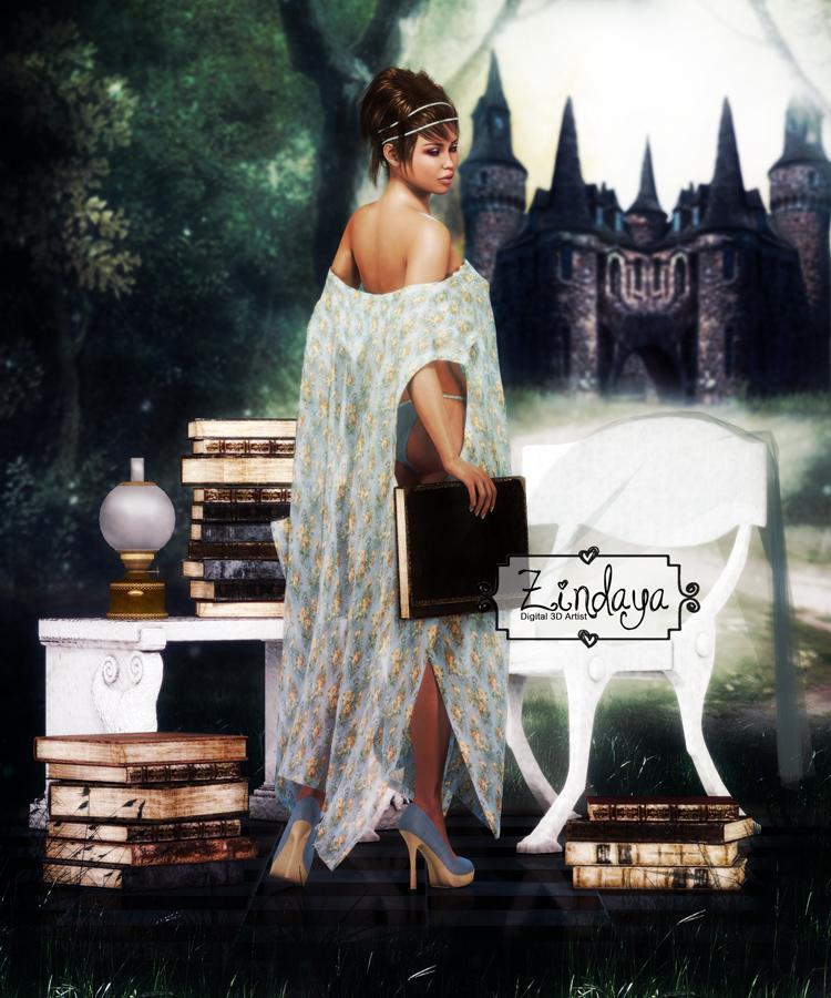 The life of a reader by angellella