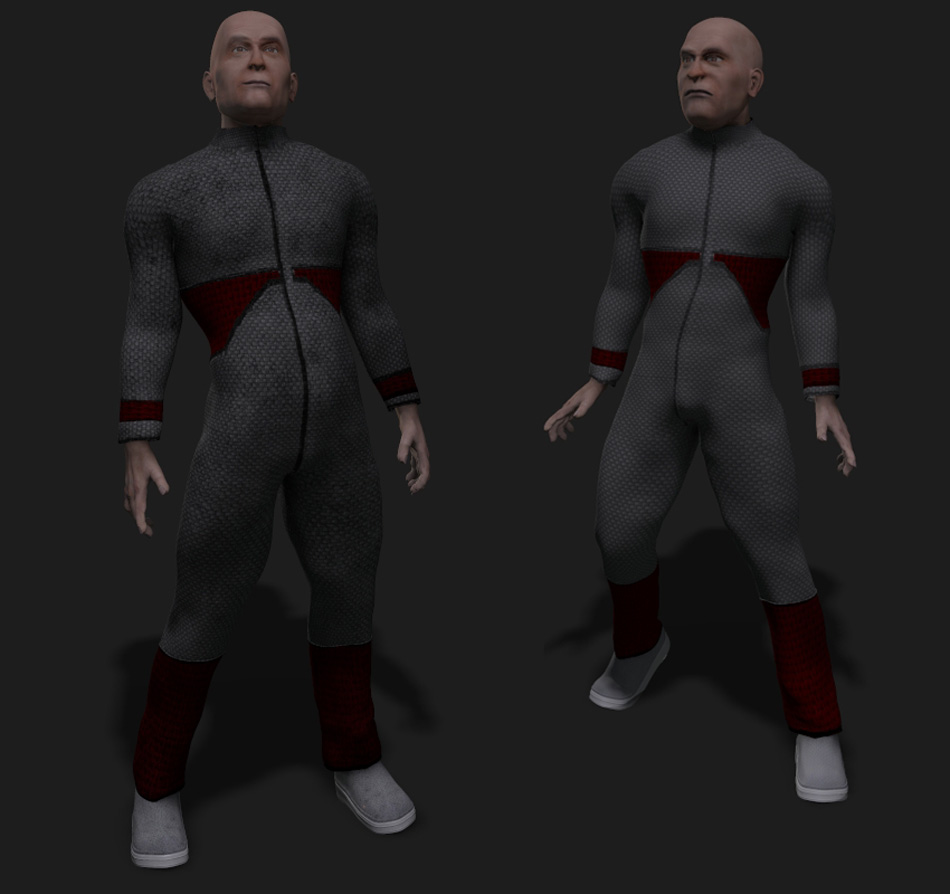 Space pack for the adman, WIP 1