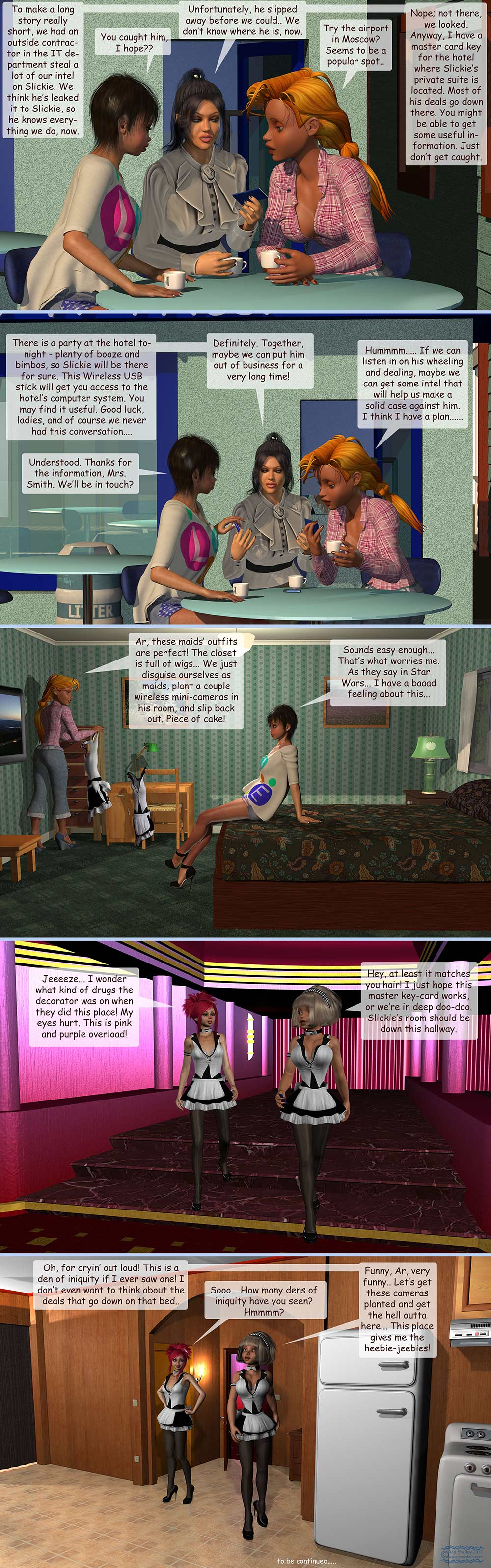 Girls From T.N.A: Brietlenger Jar; Ch 4 Pg 12