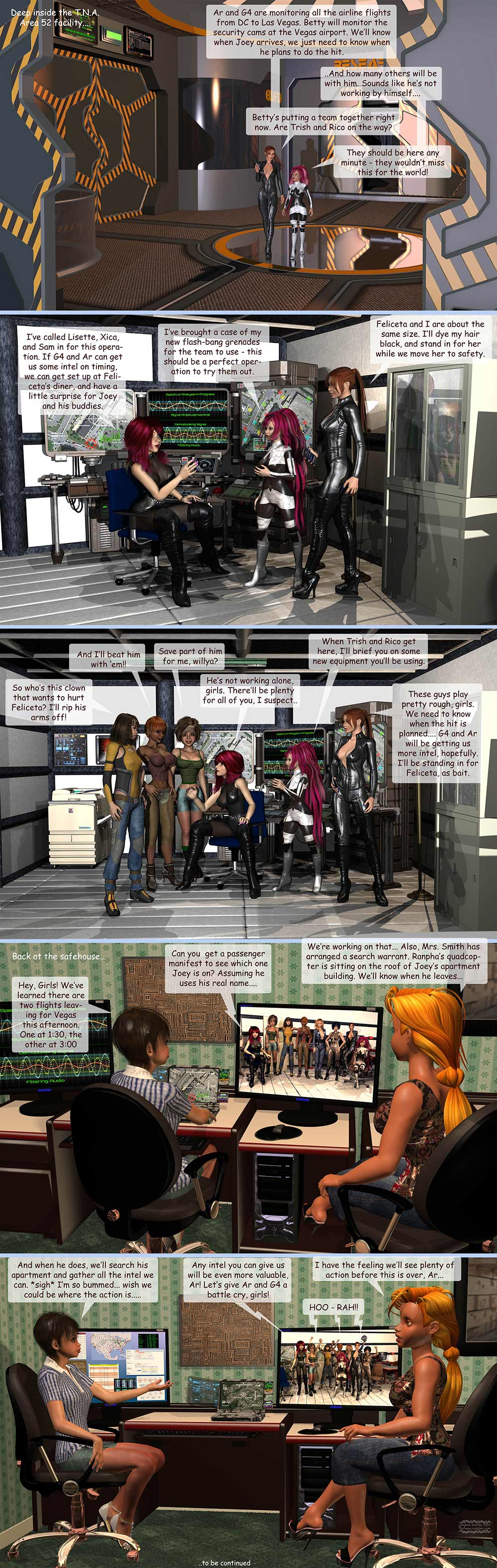 Girls From T.N.A: Brietlenger Jar Ch 4 Page 19