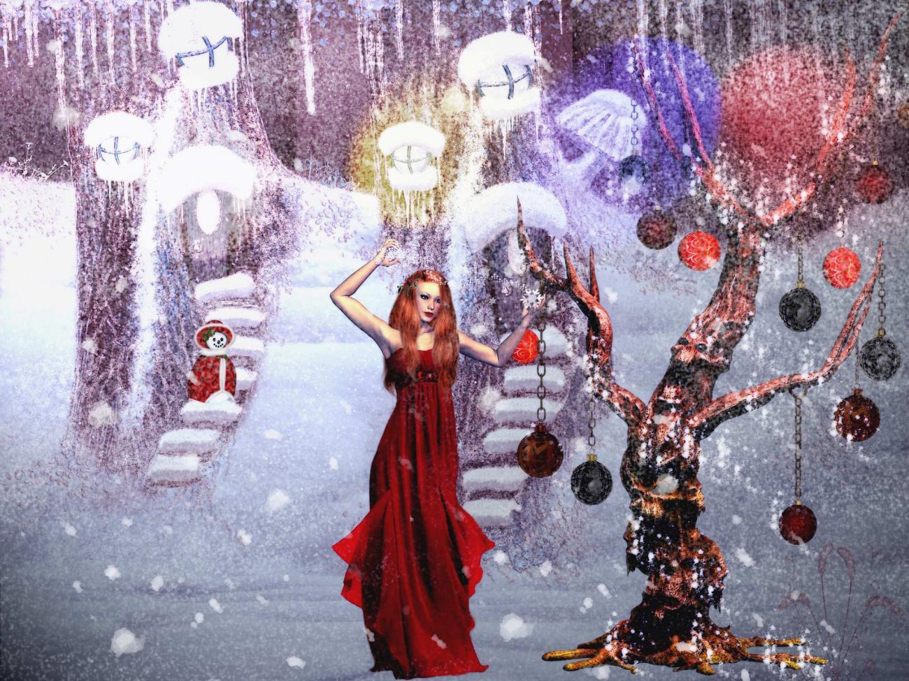 Christmas Witch!For all RR Comunity!