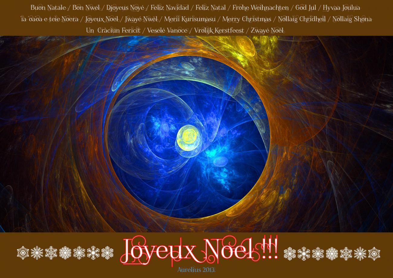 JOYEUX NOEL !! For All My Renderosity's Friends.
