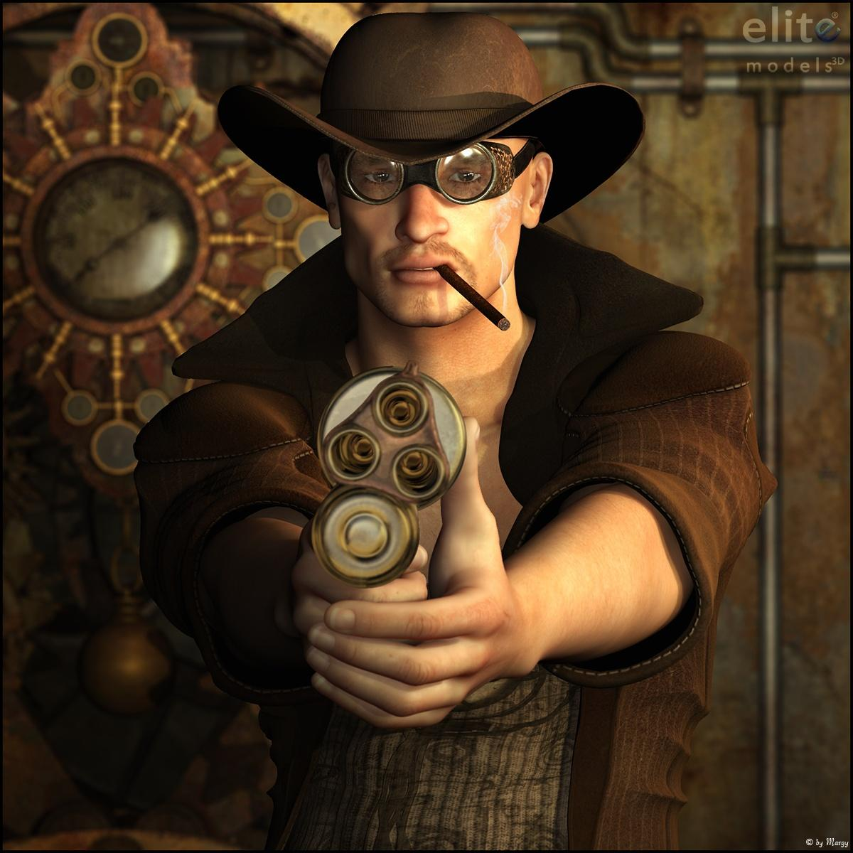 Steam Cowboy for Tempesta3d