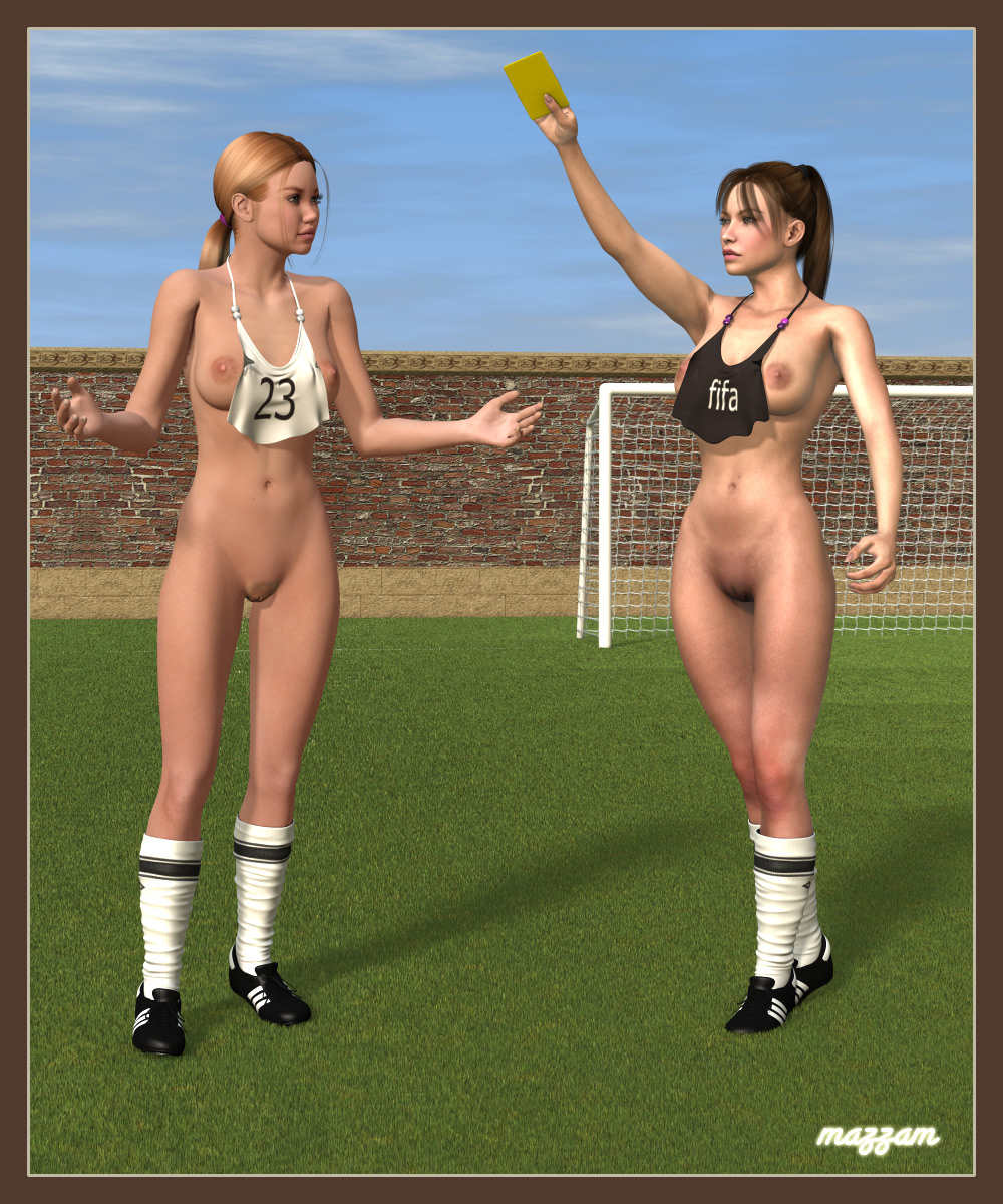 Fifa Porn nude soccer - yellow cardmazzam poser sports