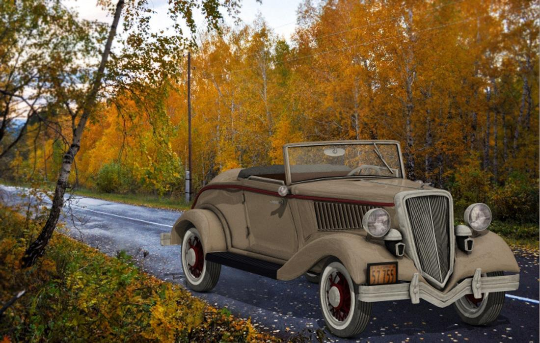 1934 Ford 40 by adh3d