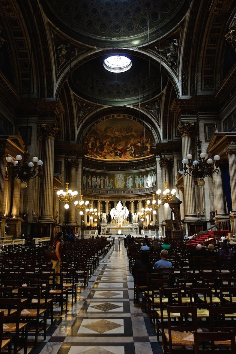 La Madeleine Church, Paris.
