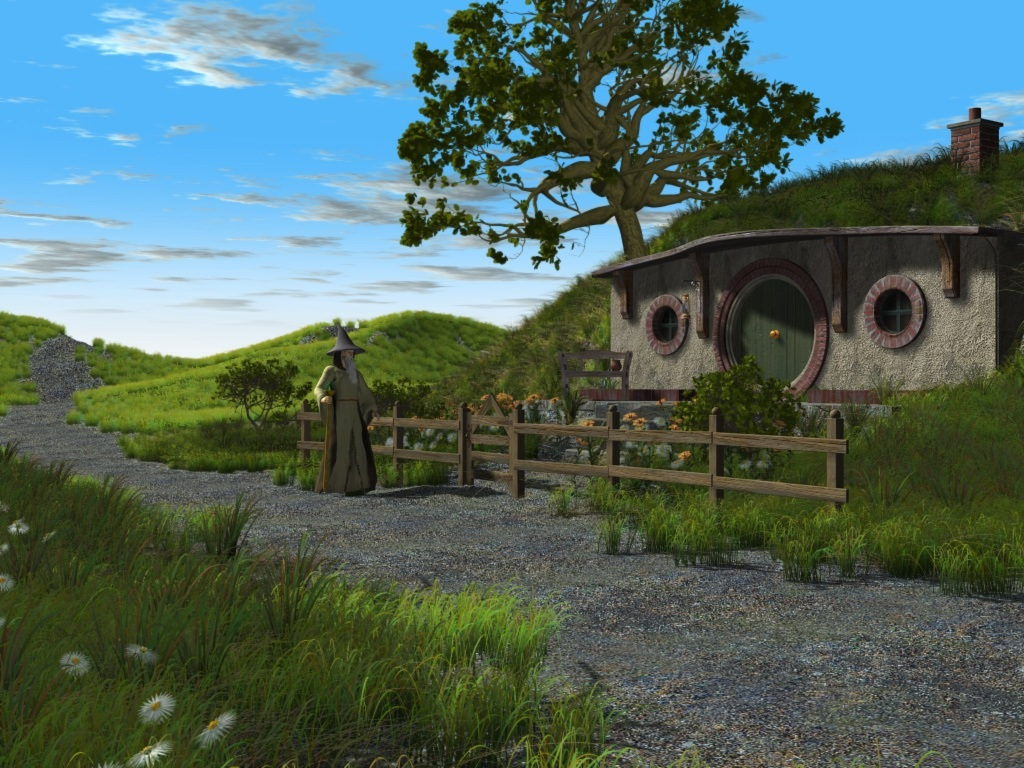 Bag End by Alfons
