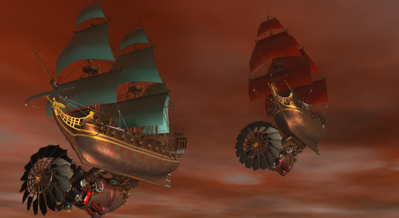 Airship Pirates part 2