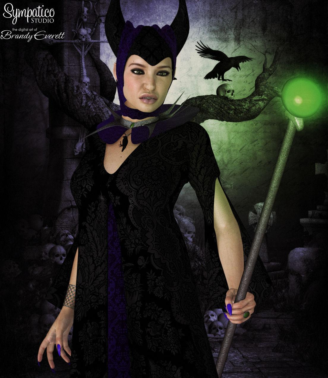 Maleficent - for Godin