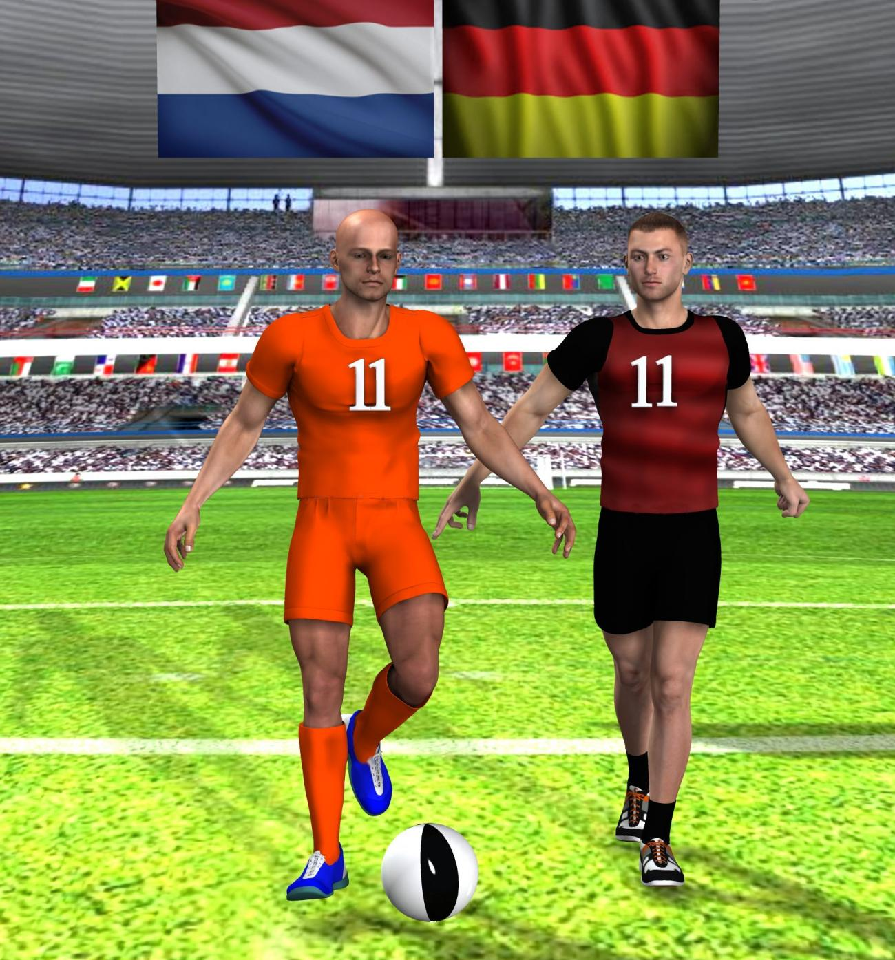 Holland and Germany