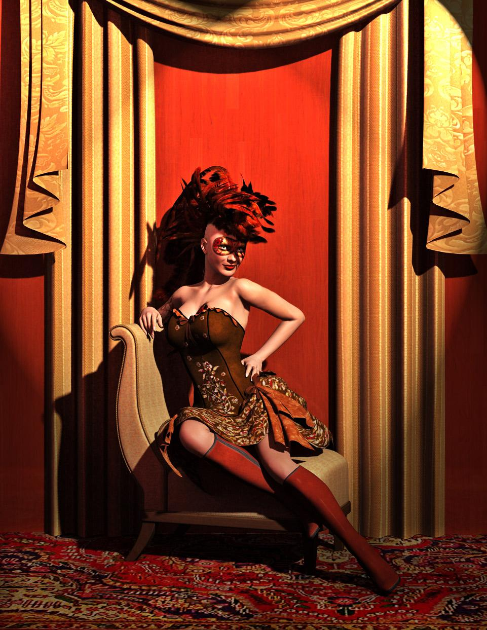 Steampunk Burlesque