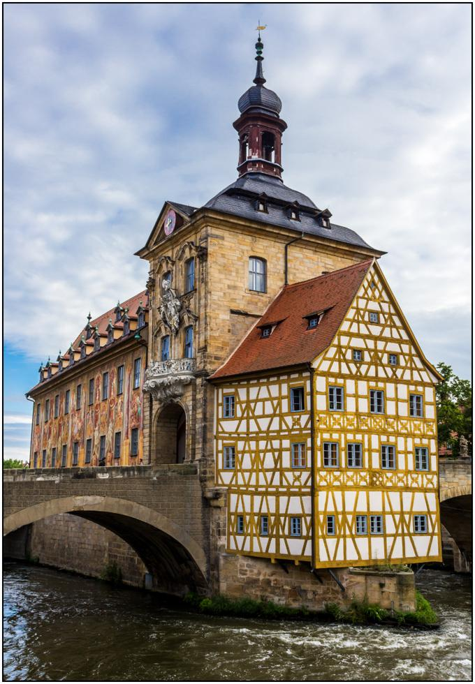 The old City Hall, Bamberg