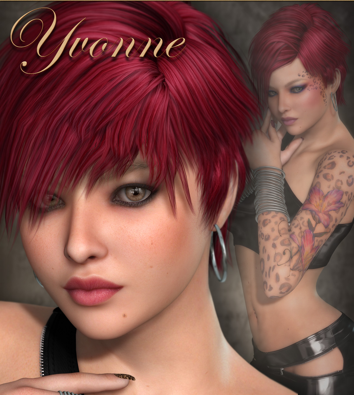 Yvonne: Available Now!