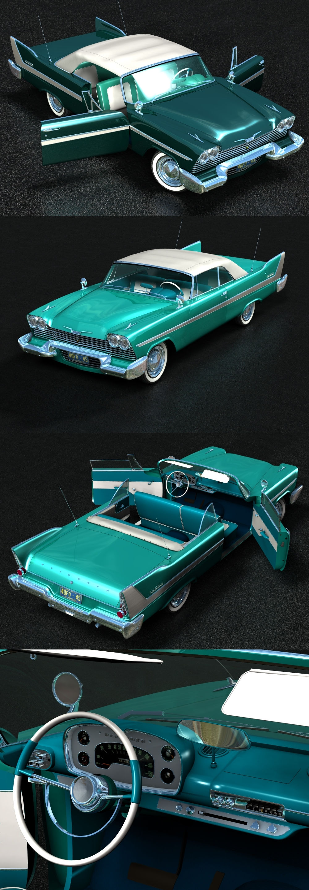 Plymouth Belvedere convertible 1958