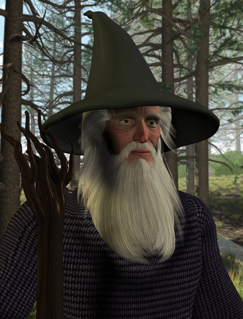 Gandalf by Alfons