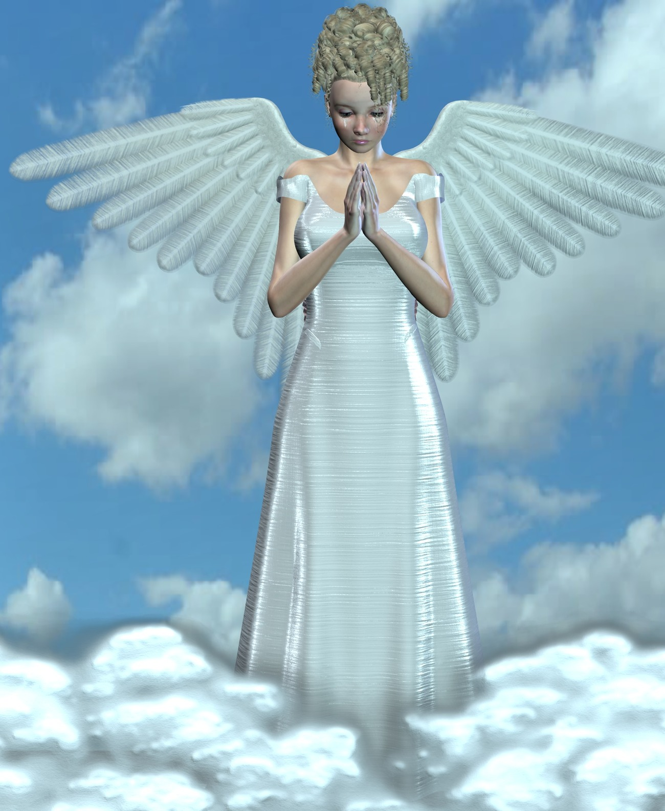 Angel for Louise Davis aka Bossie_Boots