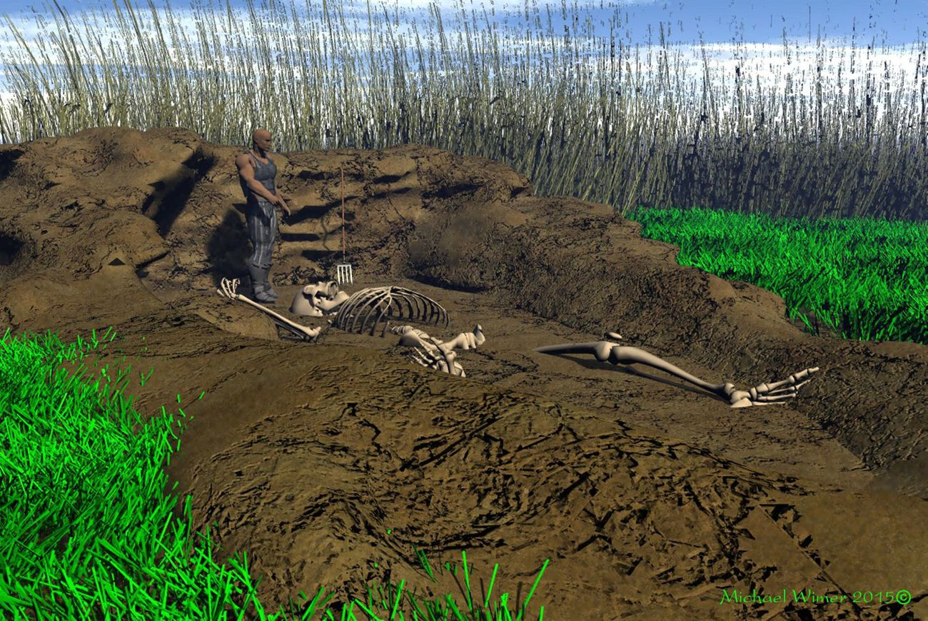 Discovery of Giant Bones from our Past