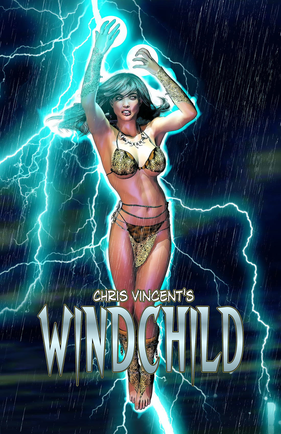 Windchild Cover by Miles Obrien