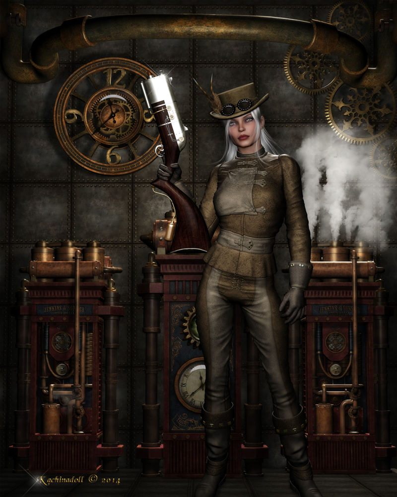 Steampunk Rebel