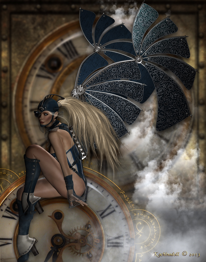Steampunk Time Traveler
