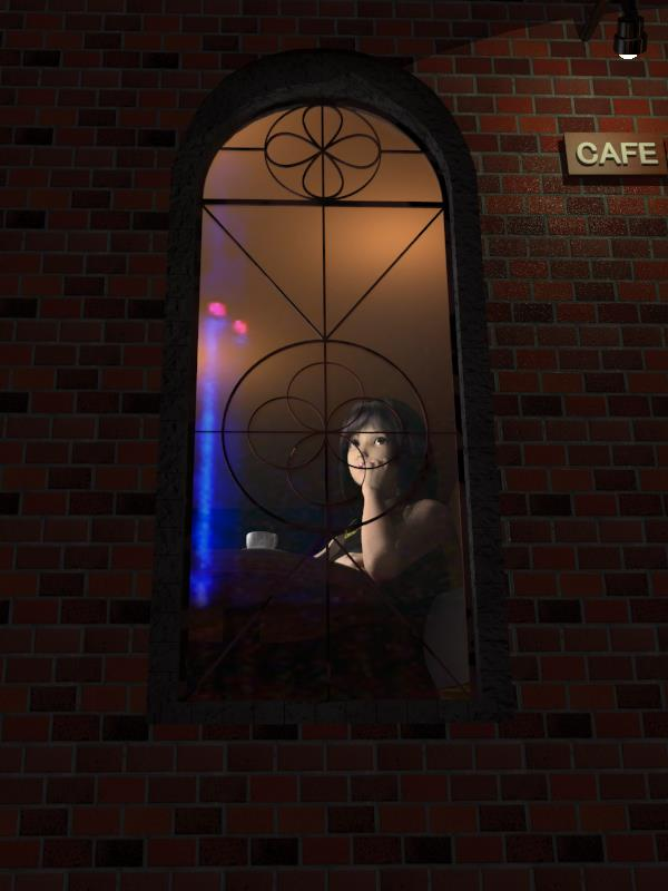 Night cafe