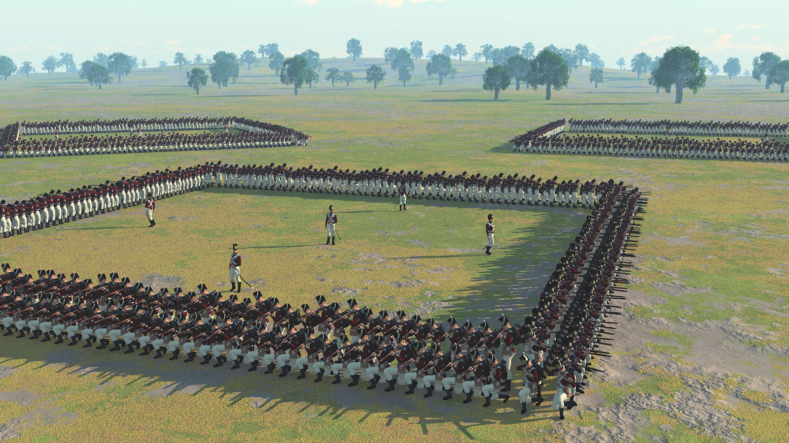 British Square Formation By Ark Pilot Vue Military