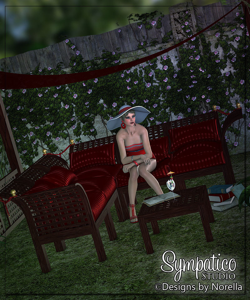 Relaxing under the Moonlight by angellella