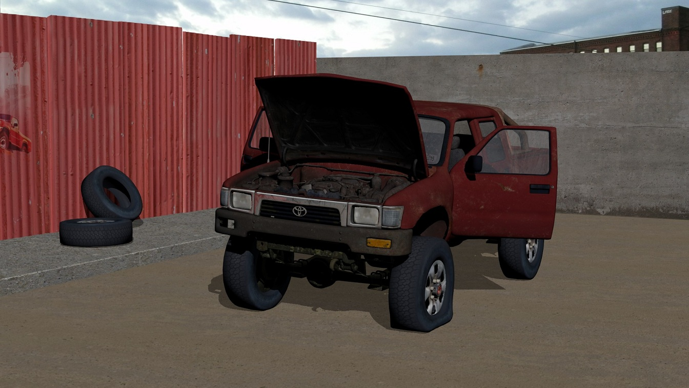 Toyota truck to fix