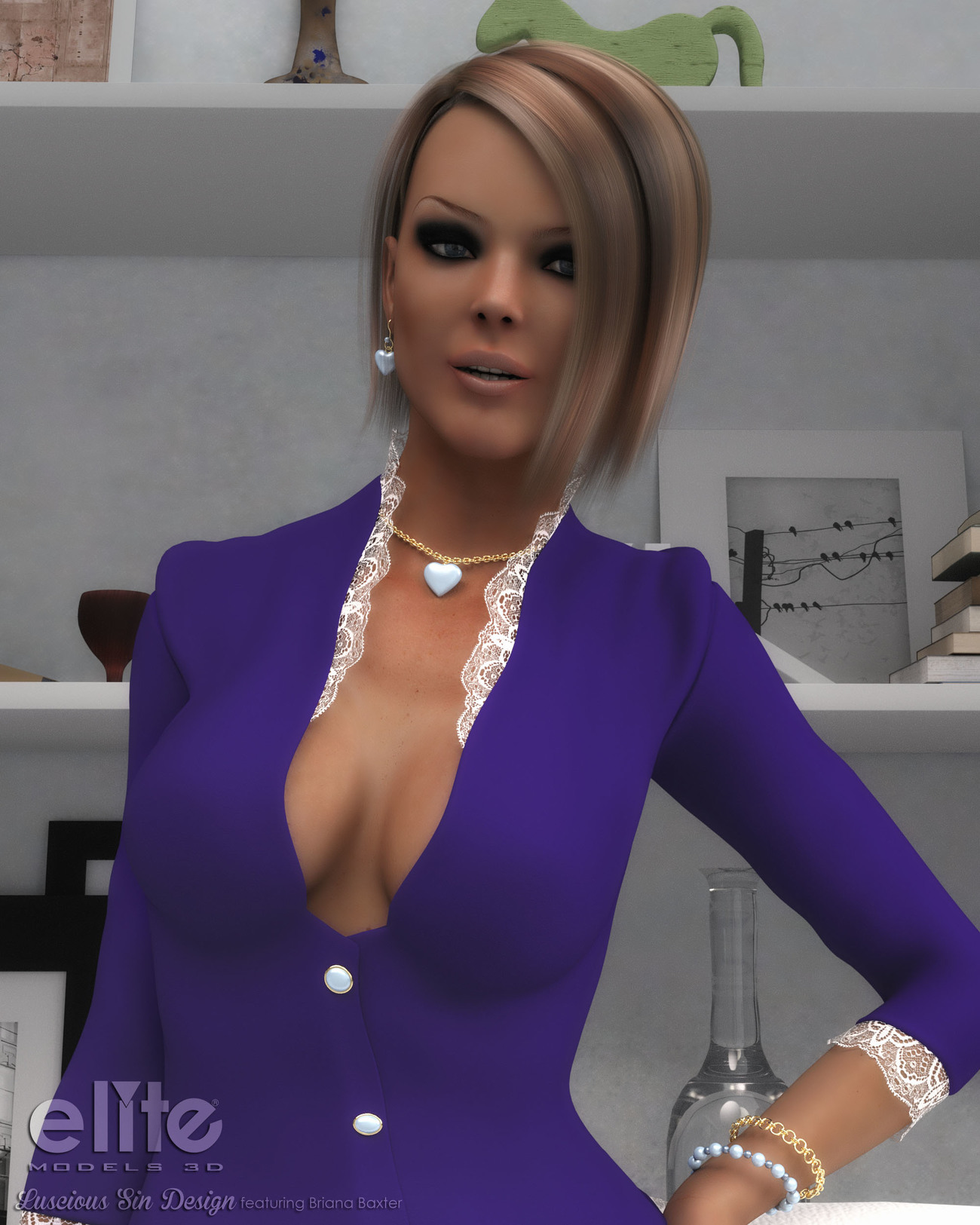 Godin's Jewelry Collection1 III for Godin by EliteModels3D