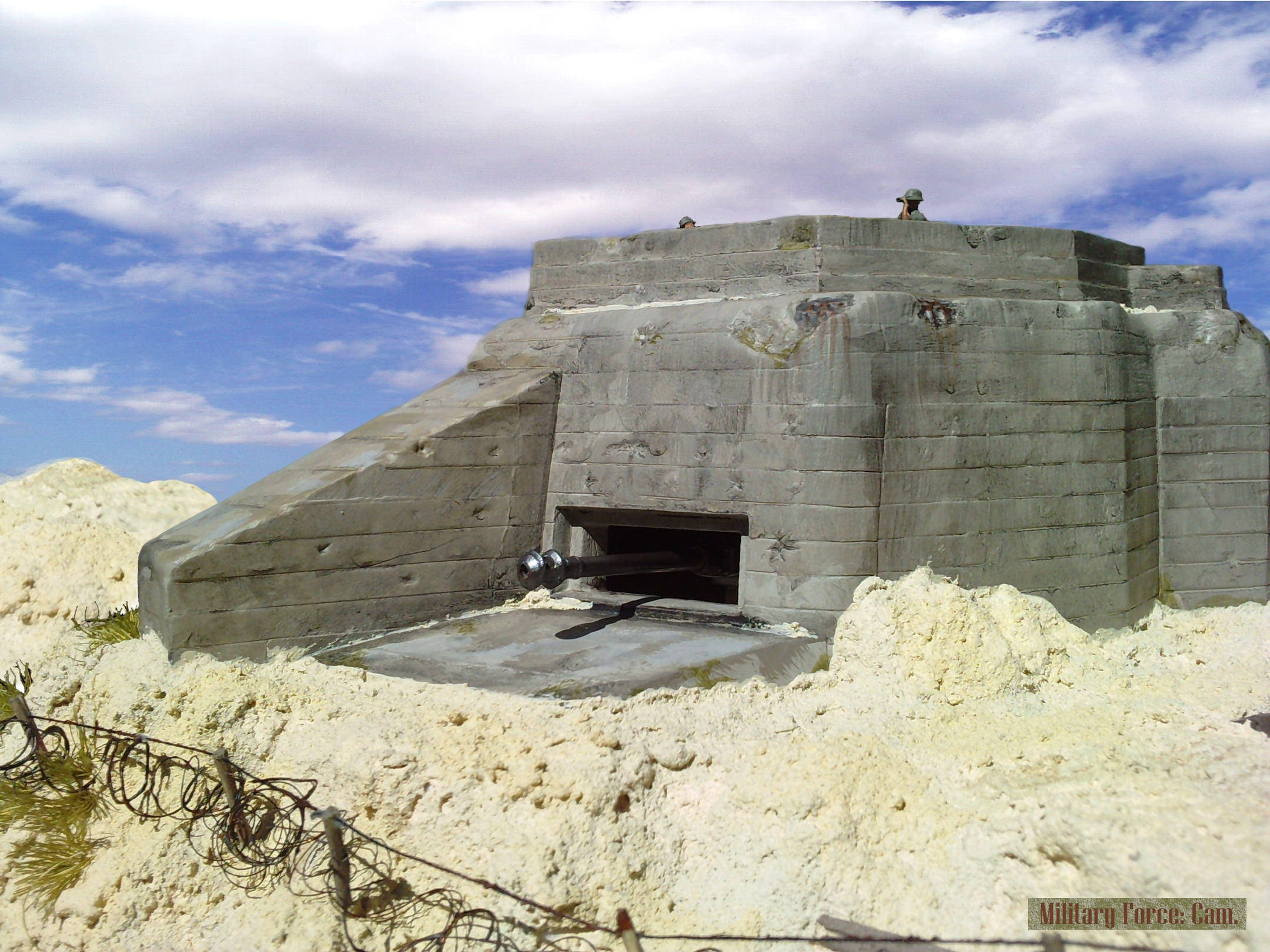 The Ruquet Bunker At Omaha Beach Normandy By