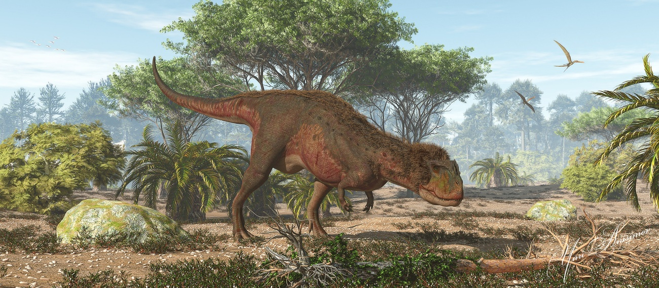 Rugops, Africa 95 million years ago