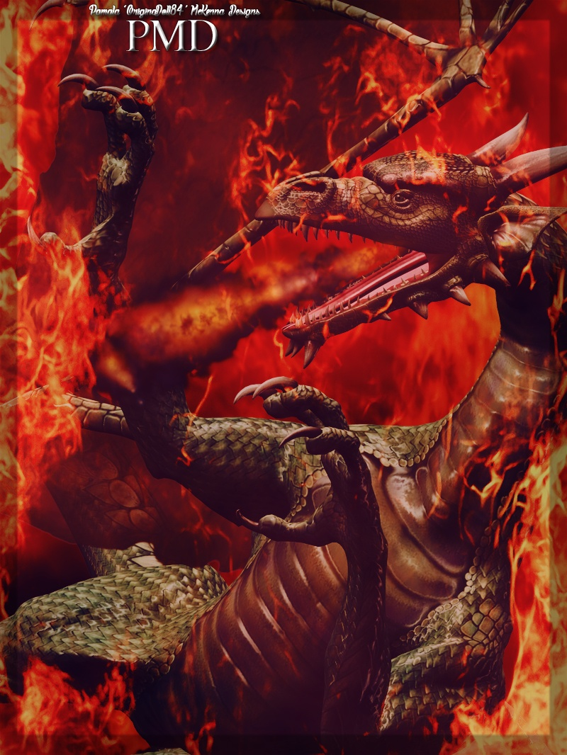 Dragon Of Hell: By PMD.
