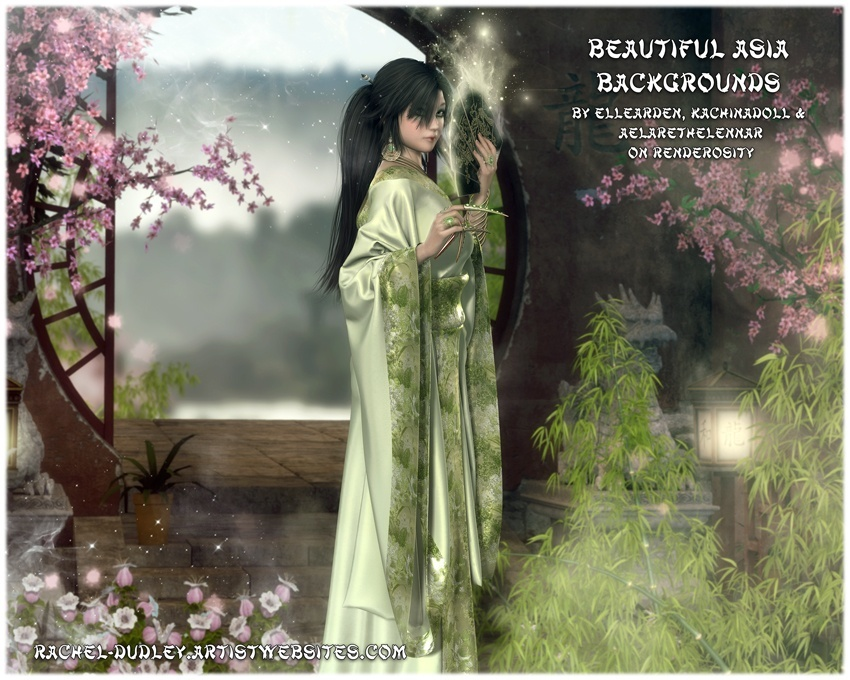 Beautiful Asia Backgrounds - In Store Now!