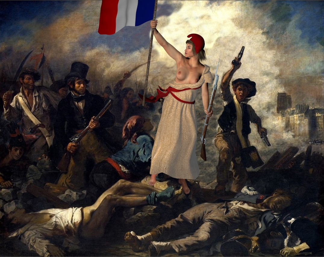 Liberty Leading the People - Poser art for Paris by gwp ...