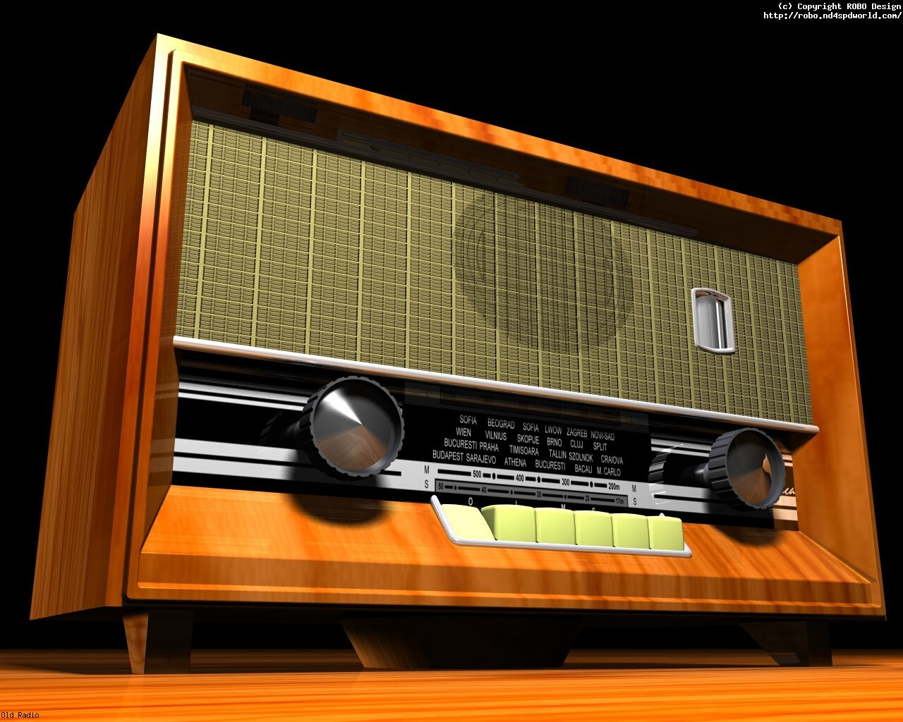 Old Radio by robodesign