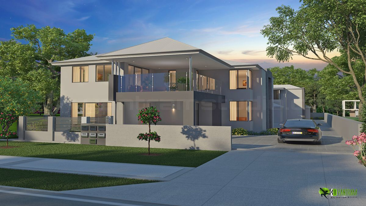 Classic Exterior D Home Design By Yantramstudio Architecture - 3d design home