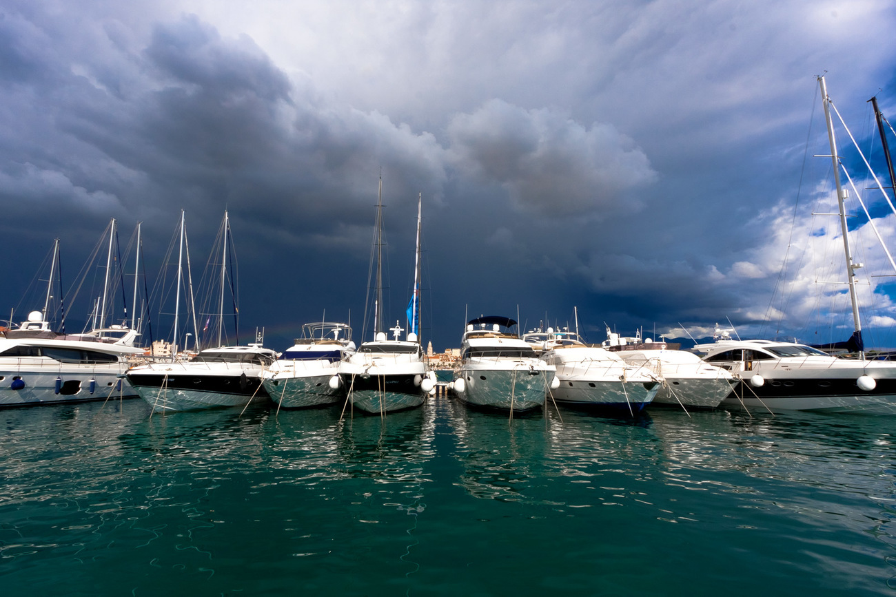 Thunderstorm over Split by MartiniquePL