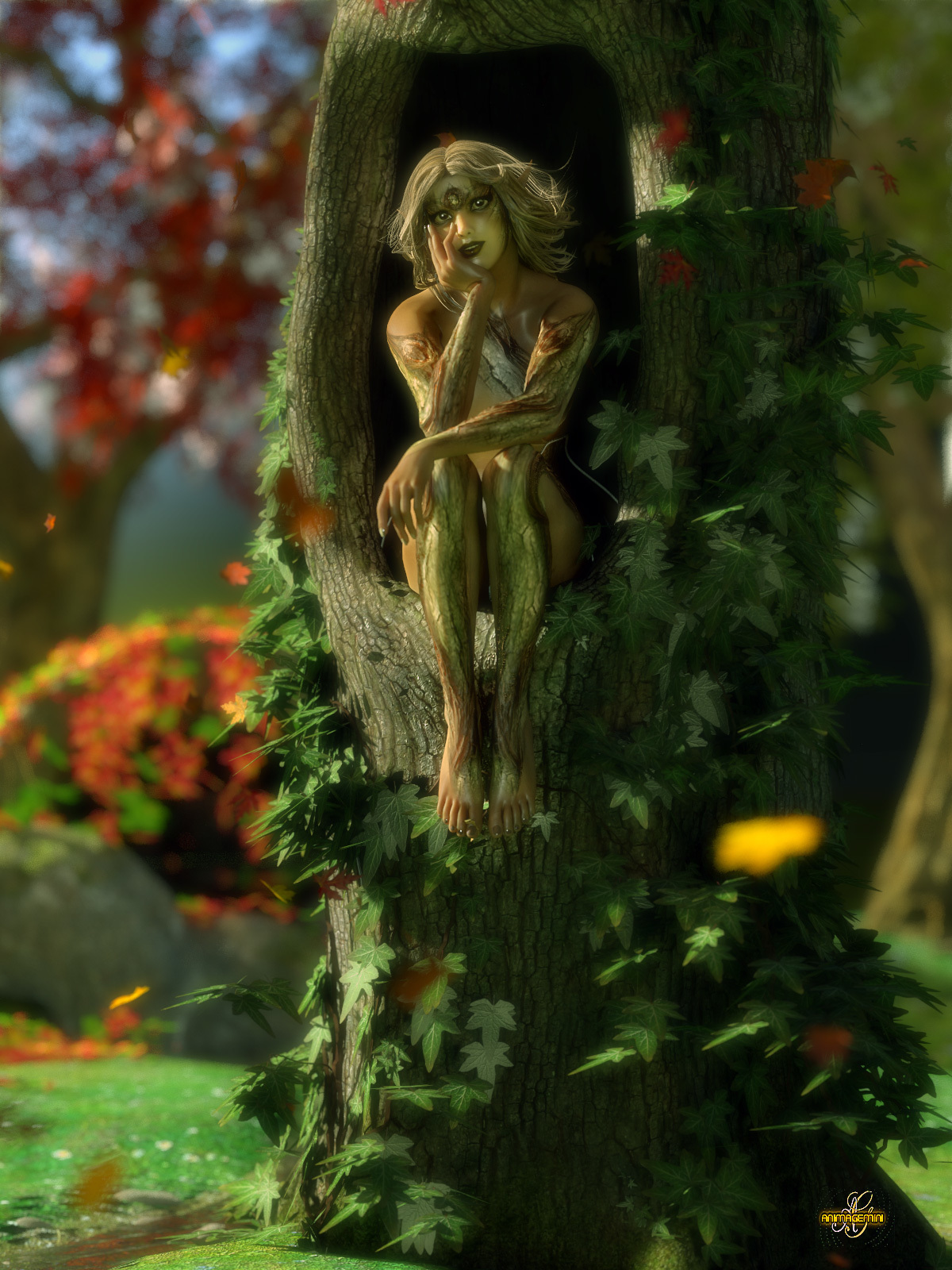 Little Dryad by Ladonna