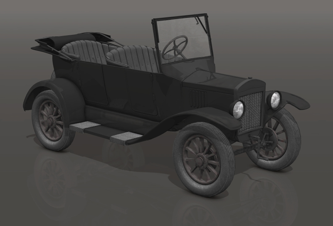 1922 Ford T touring by adh3d