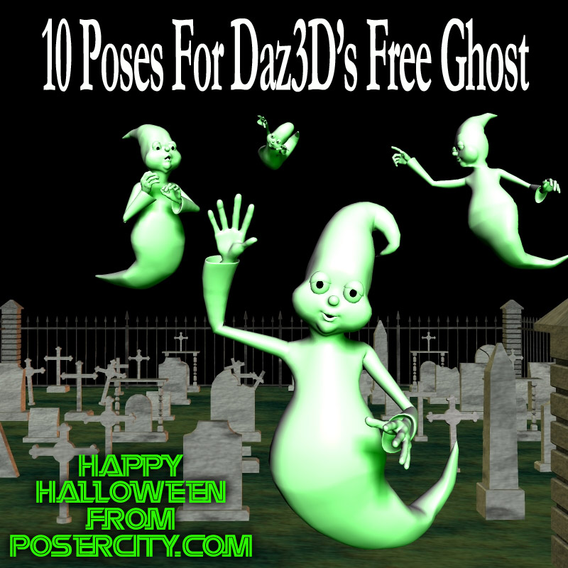 Free Ghost Poses