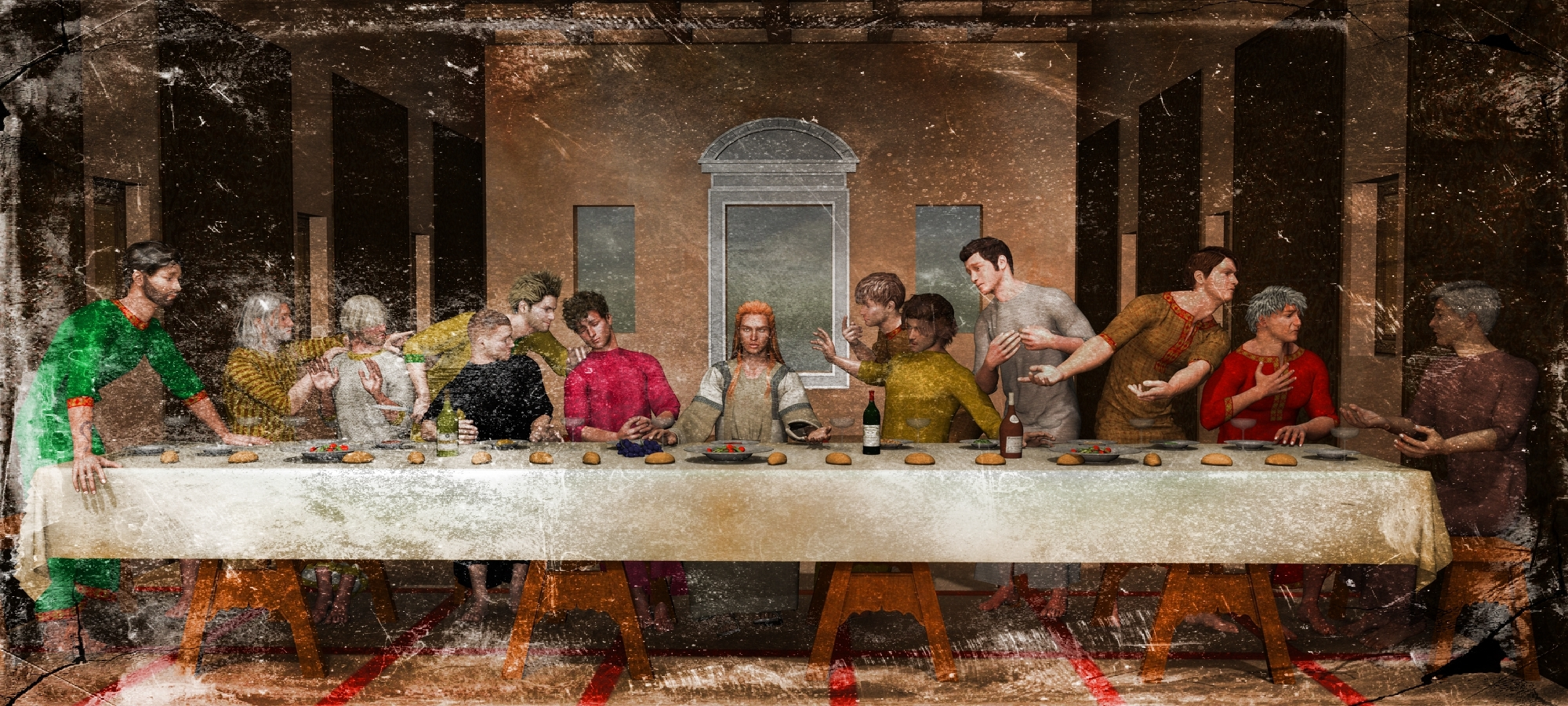 Last supper (normal version with filter)