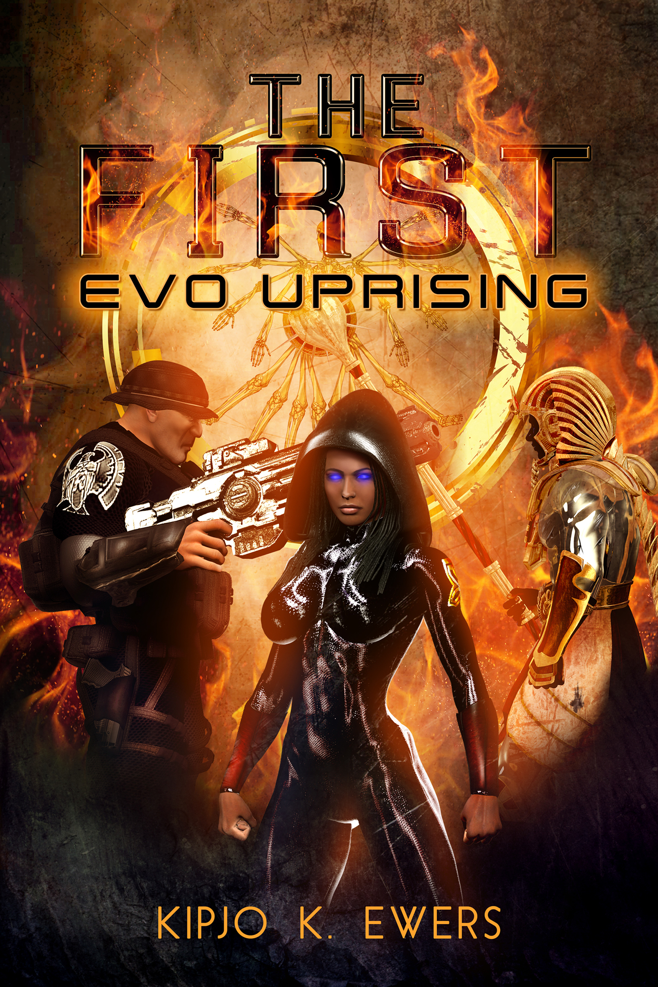 The First EVO Uprising Book Cover