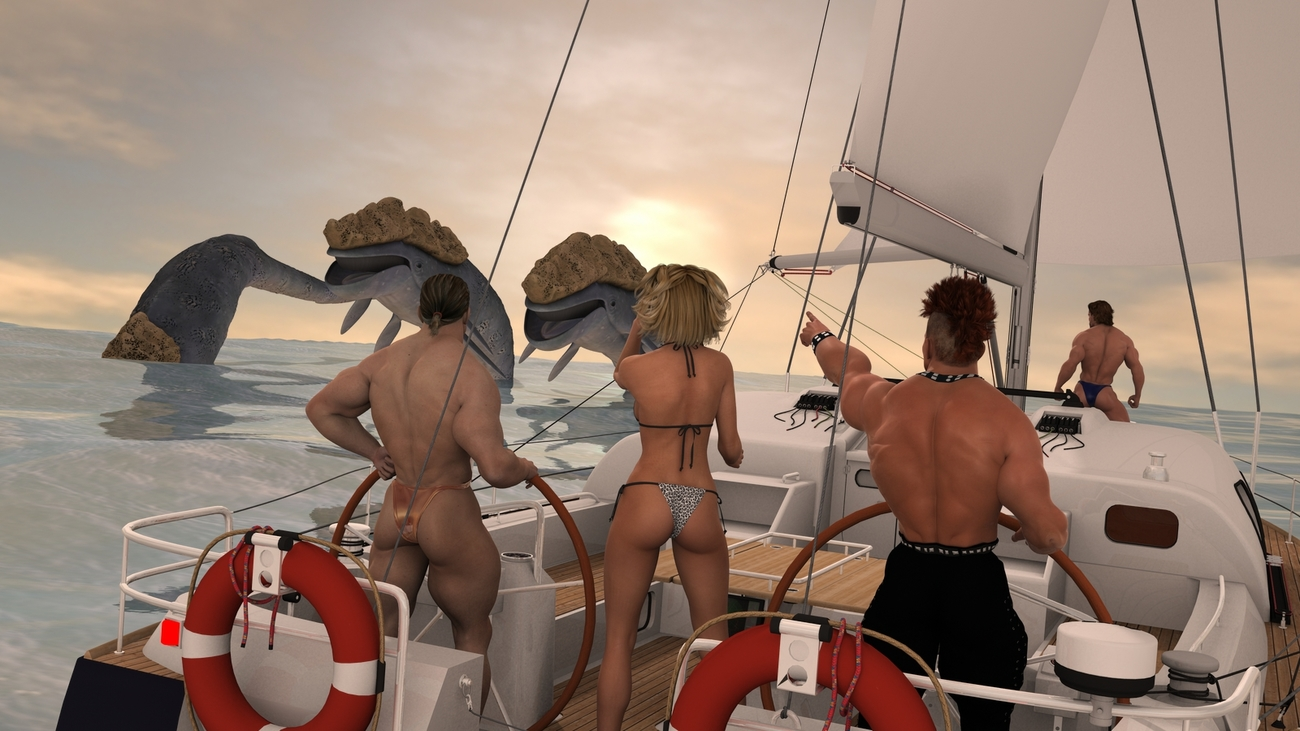 Boat-trip with monster-viewing by Catweazle