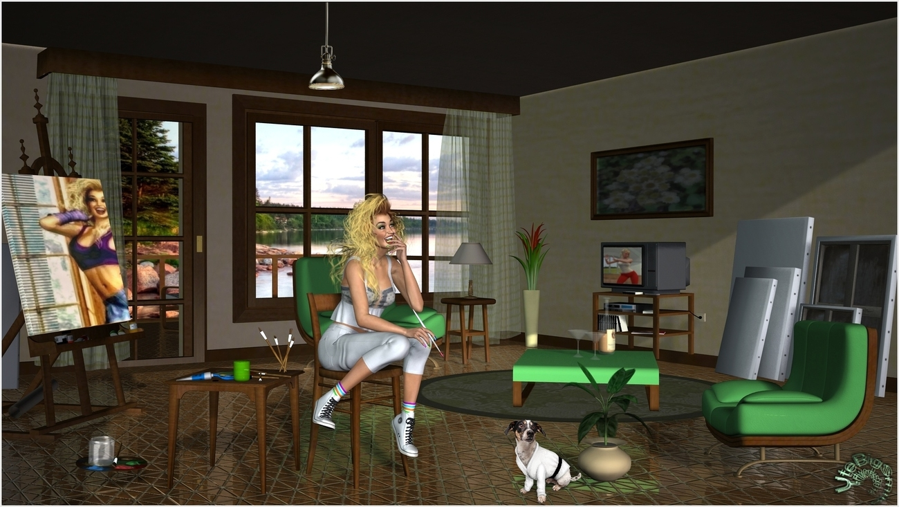 Goldie - My new Atelier by the Lake by UteBigSmile