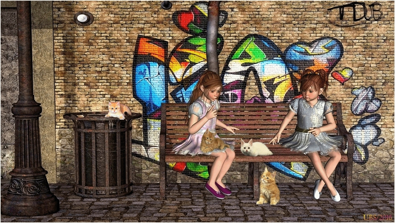 The little Catlovers (for all my friends) by UteBigSmile