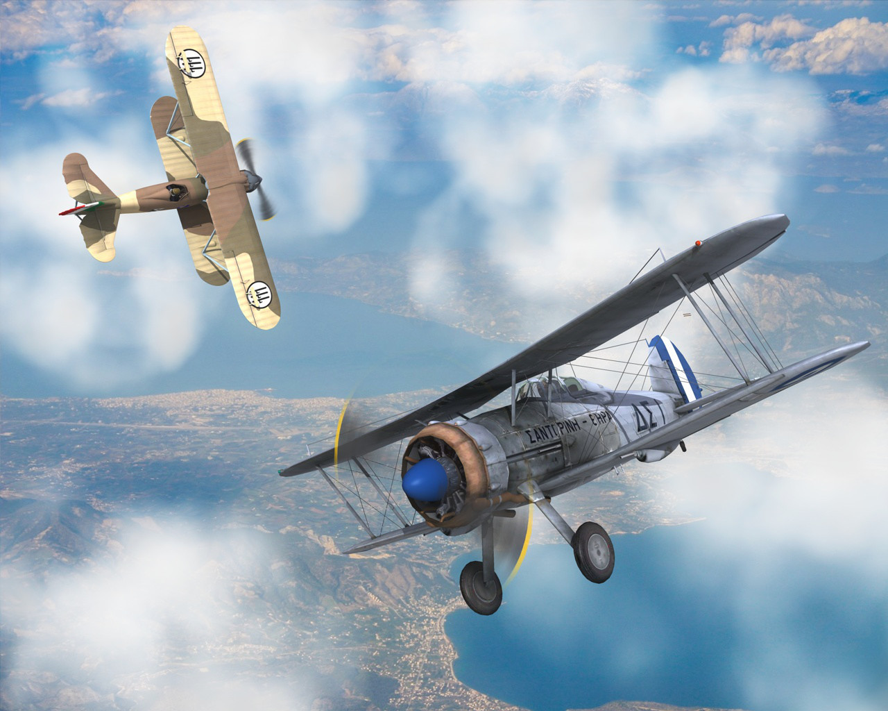 The Last Battle Of The Biplanes